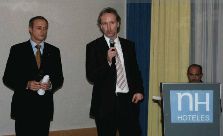 Moderierten: Toni Schutti, Christian Drastil, Manfred Kainz