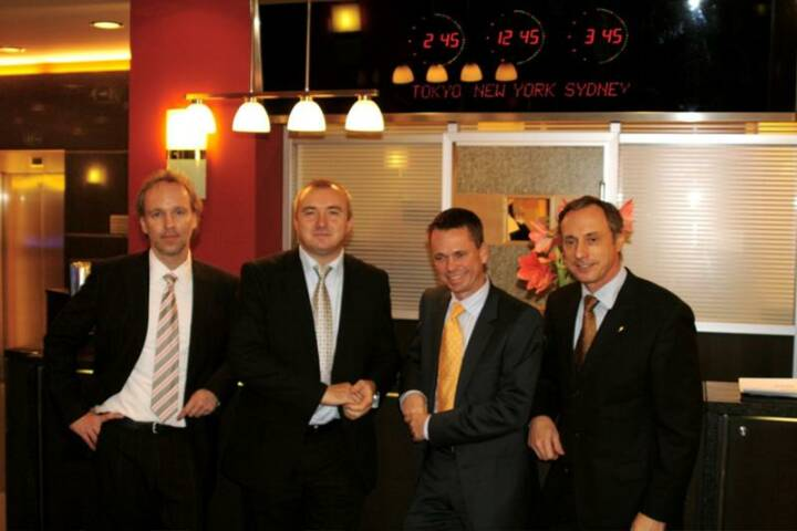 Veranstalter: Christian Drastil, Martin Bredl (Telekom), Harald Himmer, Toni Schutti