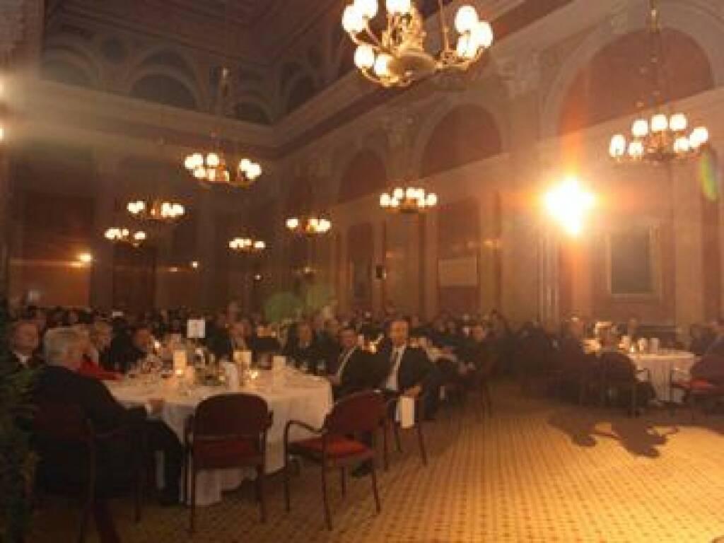 Festsaal der Wiener Börse als perfekte Location (17.11.2014)