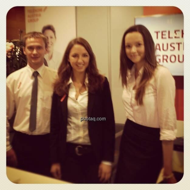 Gewinn-Messe 2012 - Telekom Austria, © Drastil (15.12.2012)