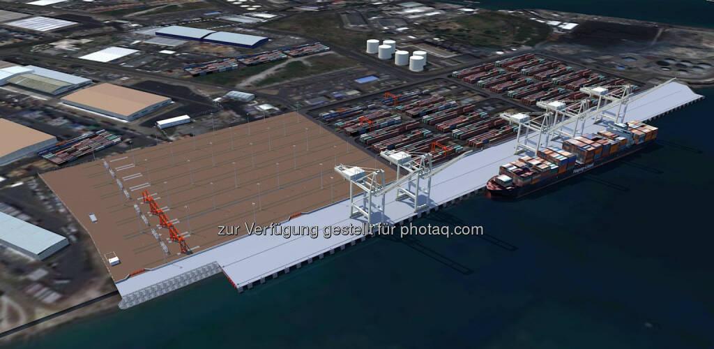 Strabag erweitert Container-Hafen auf Mauritius für € 90 Mio., © Aussendung (20.11.2014)