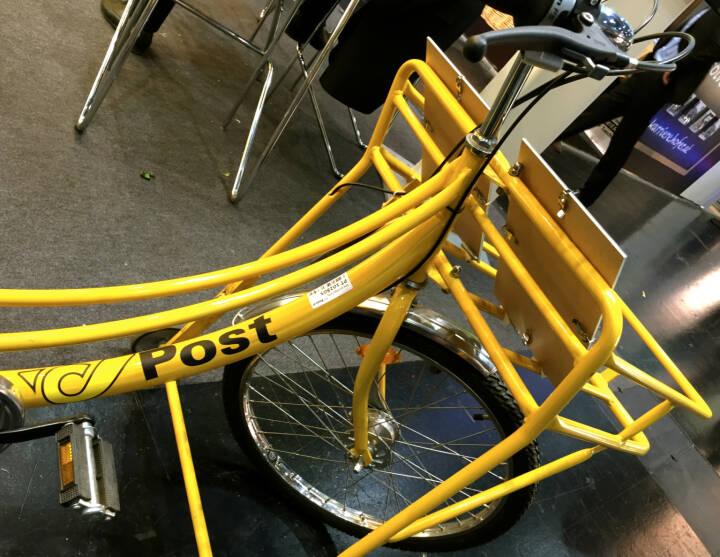Post, Fahrrad