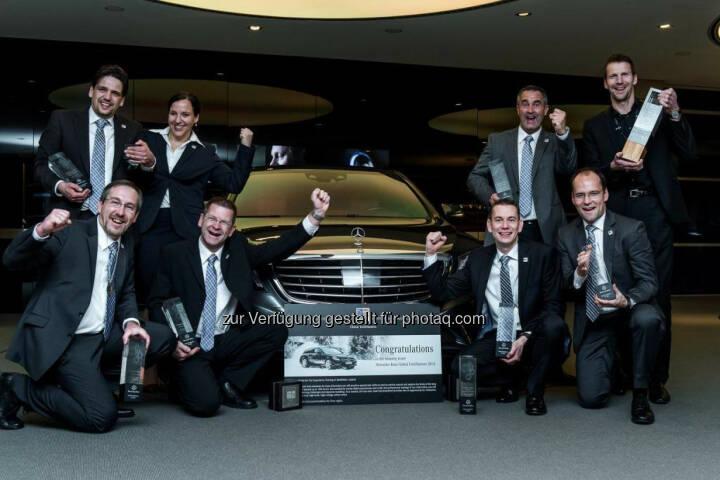 Internationaler Wettbewerb für Mercedes-Benz Servicemitarbeiter: Team Deutschland – Gesamtsieger 2014