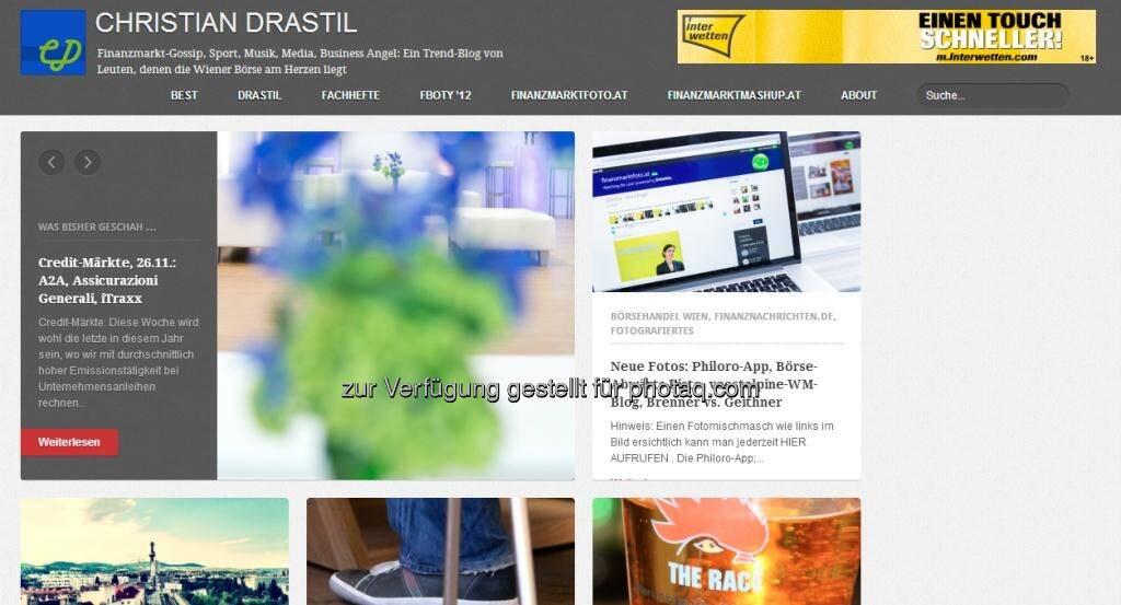 http://www.christian-drastil.com - Blog des finanzmarktfoto.at-Betreibers - hier aber nicht selbst ausgewählt, sondern als Medienfoto von dakyrna.at -  http://www.dakyrna.at/medienfoto2day-christian-drastil-com/ (07.02.2013)