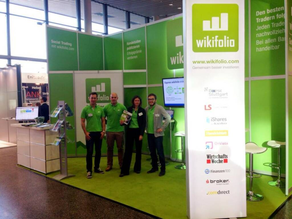 wikifolio auf der World of Trade (22.11.2014)