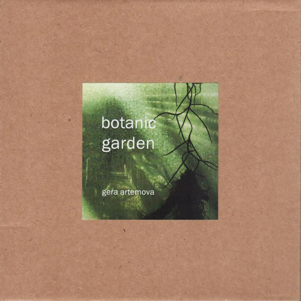 Gera Artemova - botanic garden, Self published 2014, Cover - http://josefchladek.com/book/gera_artemova_-_botanic_garden, © (c) josefchladek.com (26.11.2014)