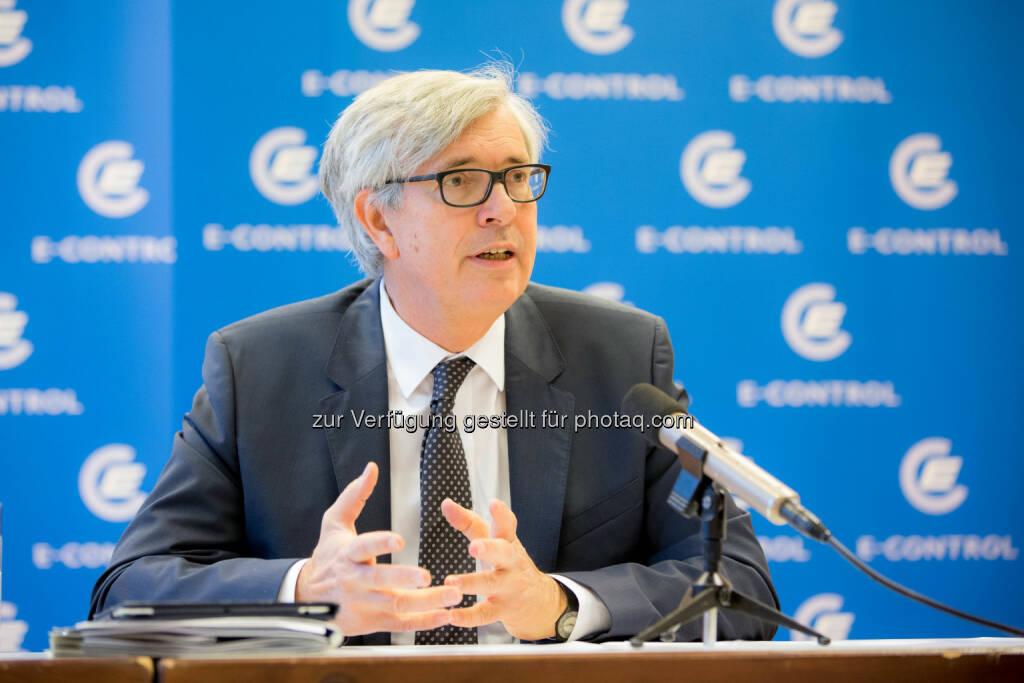 Walter Boltz, Vorstand der Energieregulierungsbehörde E-Control: Energie-Control Austria: E-Control: Ohne klare Definition ist Energiearmut nicht effektiv zu bekämpfen, © Aussender (27.11.2014)
