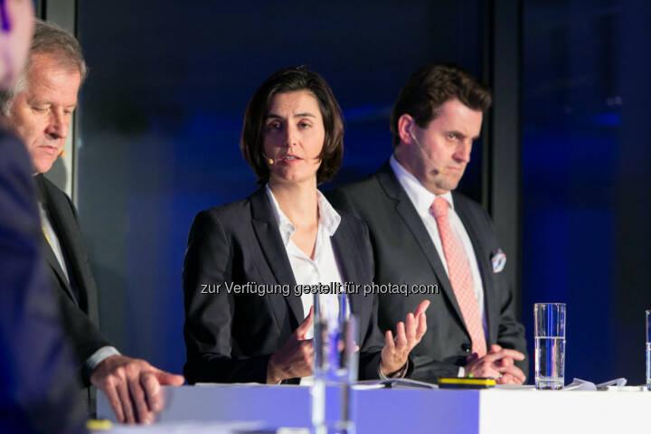 Eduard Zehetner (CEO Immofinanz), Birgit Noggler (CFO Immofinanz), Dietmar Reindl (COO Immofinanz), http://privatanleger.immofinanz.com/