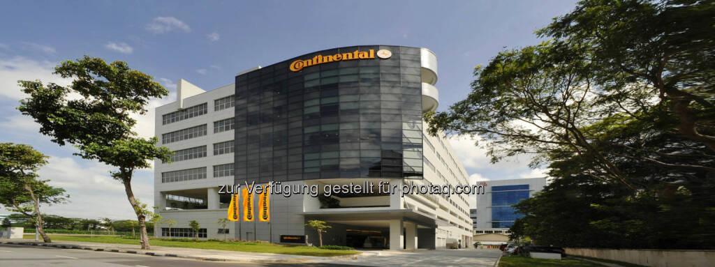 Continental eröffnet Erweiterungsbau seines Forschungs- und Entwicklungszentrums in Singapur., © Aussendung (27.11.2014)