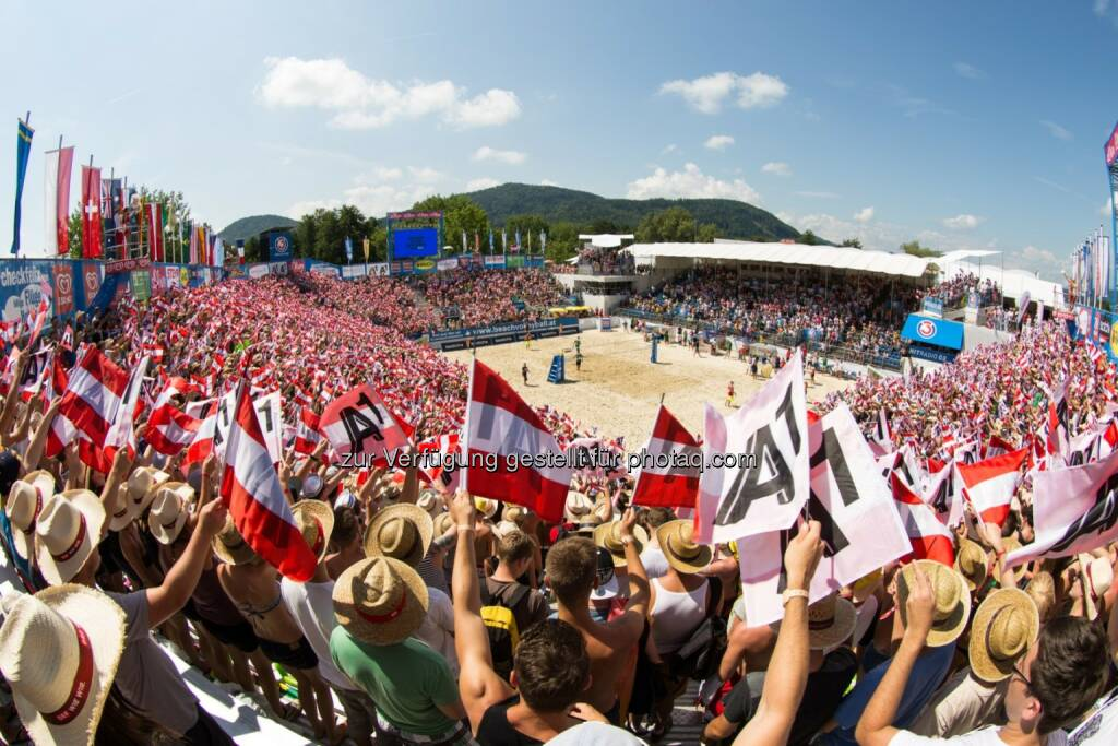 2015 CEV A1 Beach Volleyball Europameisterschaft: 2015 CEV A1 Beach Volleyball Europameisterschaft von 28. Juli bis 2. August 2015, © Aussendung (27.11.2014)