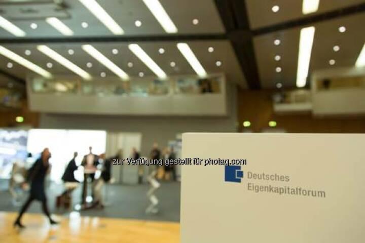 Vom 24. bis 26. November 2014 fand in der Frankfurter Messe das alljährliche Deutsche Eigenkapitalforum statt. Die Kapitalmarktkonferenz ist Europas größte Informations- und Netzwerkplattform. Organisiert wird das Forum von der Deutschen Börse und der KfW als Mitveranstalter.
