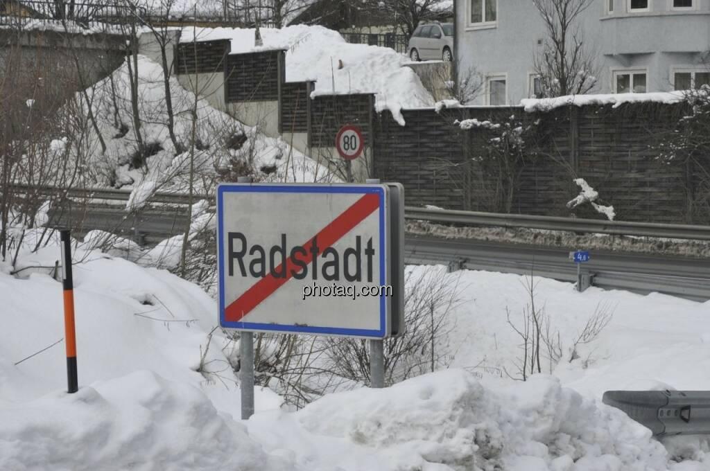 Radstadt, Winter 2013, © finanztmarktfoto.at (08.02.2013)