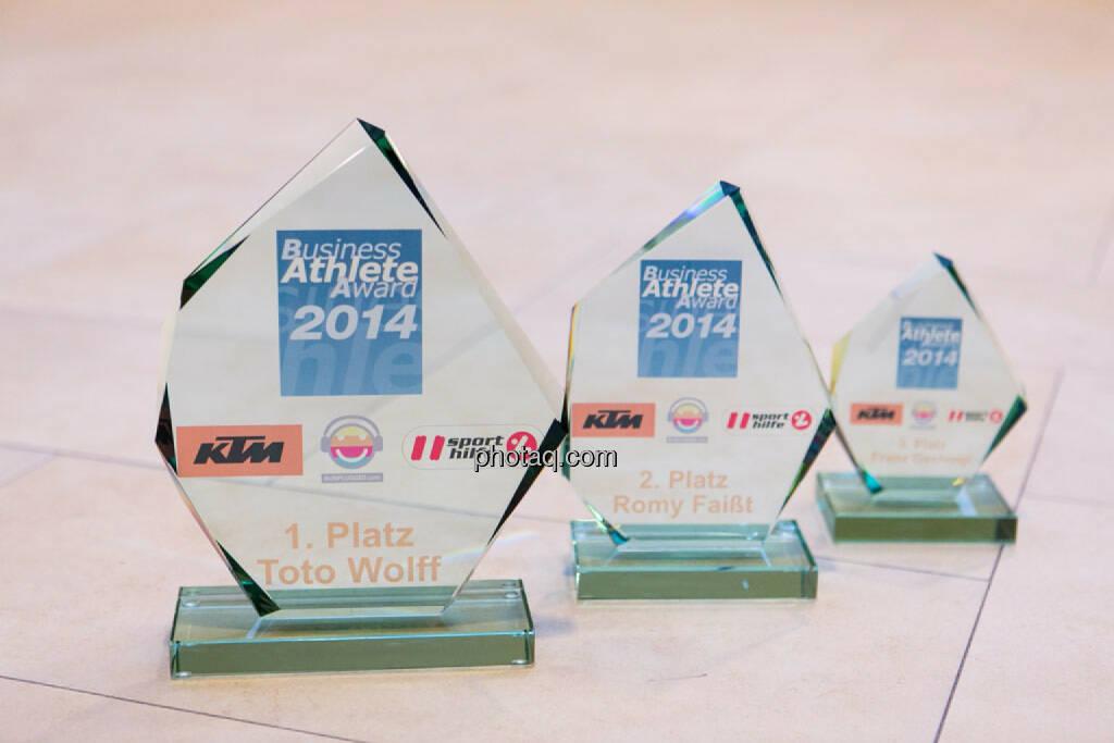 Runplugged Business Athlete Award 2014, die Awards, © photaq/Martina Draper (02.12.2014)