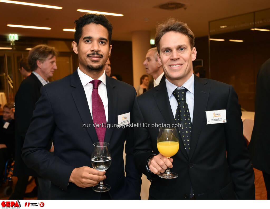 Patrick Kainz und Philipp Spring. (Photo: GEPA pictures/ Martin Hoermandinger) (02.12.2014)