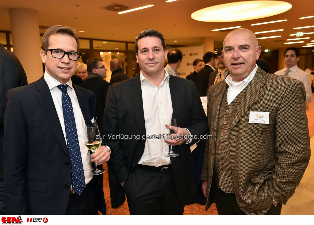 Thomas Reiter, Rene Berger und Christian Kuda. (Photo: GEPA pictures/ Martin Hoermandinger) (02.12.2014)