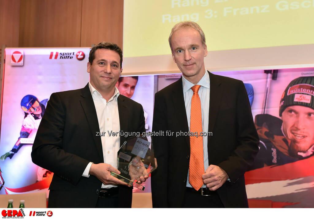 Rene Berger und Christian Drasti. (Photo: GEPA pictures/ Martin Hoermandinger) (02.12.2014)