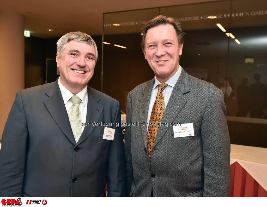 Michael Kulhavy und Manfred Tichy. (Photo: GEPA pictures/ Martin Hoermandinger) (02.12.2014)