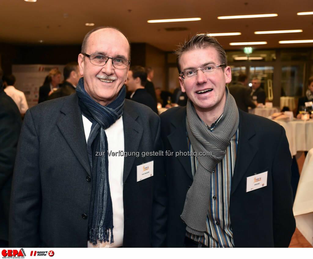 Felix Netopilek und Gernot Hohenwarter. (Photo: GEPA pictures/ Martin Hoermandinger) (02.12.2014)