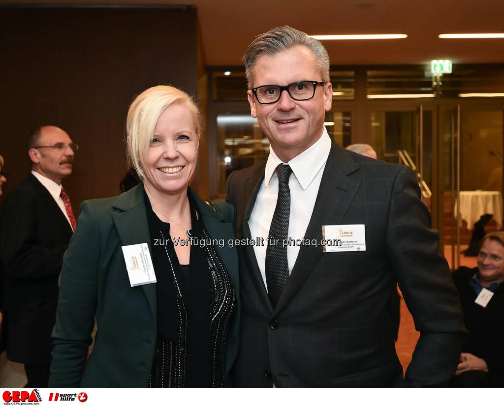 Claudia und Christian Reitterer. (Photo: GEPA pictures/ Martin Hoermandinger) (02.12.2014)
