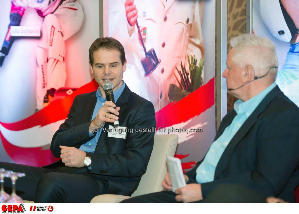 Christian Moser and Sigi Heinrich. (Photo: GEPA pictures/ Martin Hoermandinger) (02.12.2014)