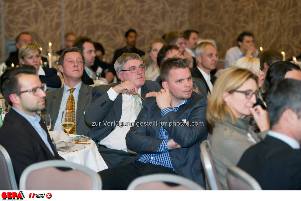 Sport und Business Circle. (Photo: GEPA pictures/ Martin Hoermandinger) (02.12.2014)