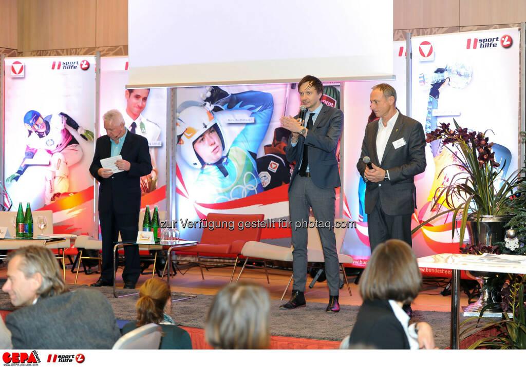Sigi Heinrich, Werner Starz and Anton Schutti. (Photo: GEPA pictures/ Martin Hoermandinger) (02.12.2014)