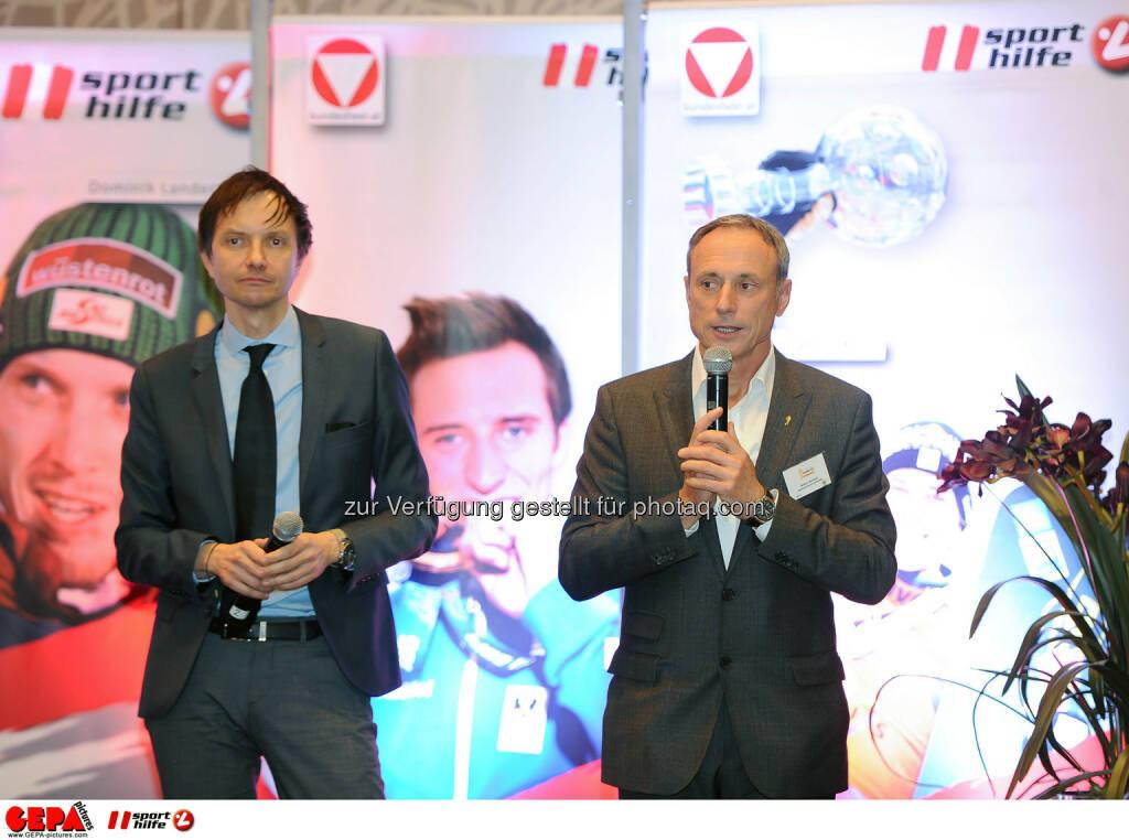 Werner Starz and Anton Schutti. (Photo: GEPA pictures/ Martin Hoermandinger) (02.12.2014)