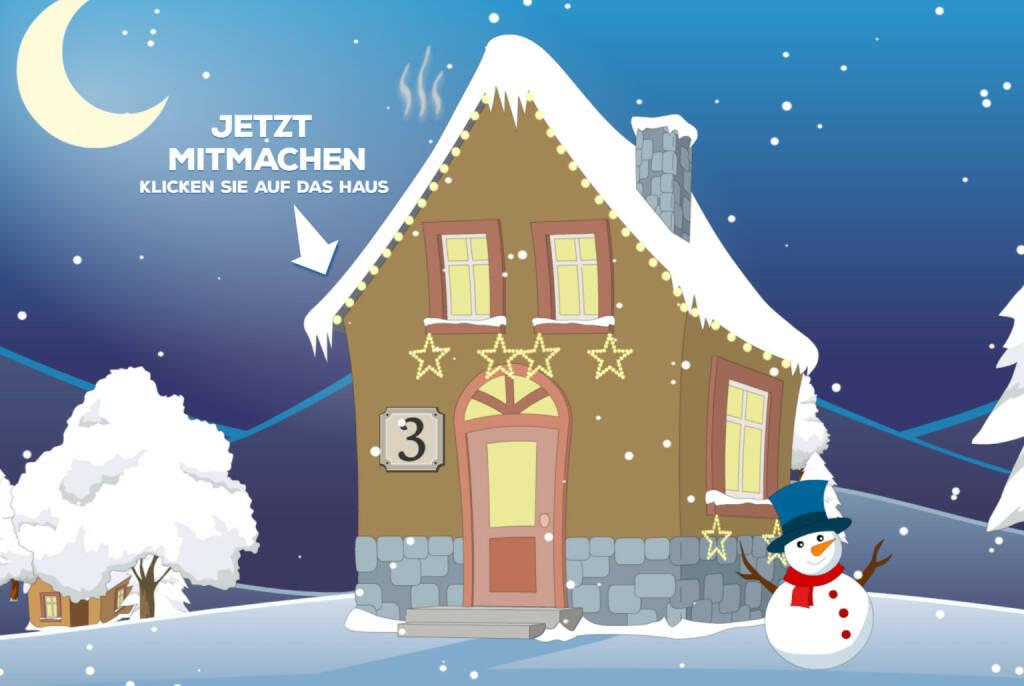 """""""Es weihnachtet bei Brokerjet – Adventkalender"""" Jetzt mitmachen und gewinnen: http://adventkalender.brokerjet.at/ (03.12.2014)"""