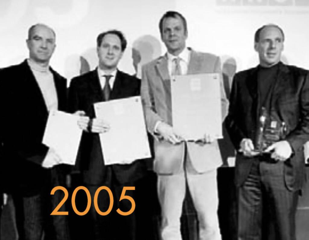 2005: Roland  Königshofer, Toni Kampelmühler, Norbert Teufelberger, Harti Weirather (03.12.2014)