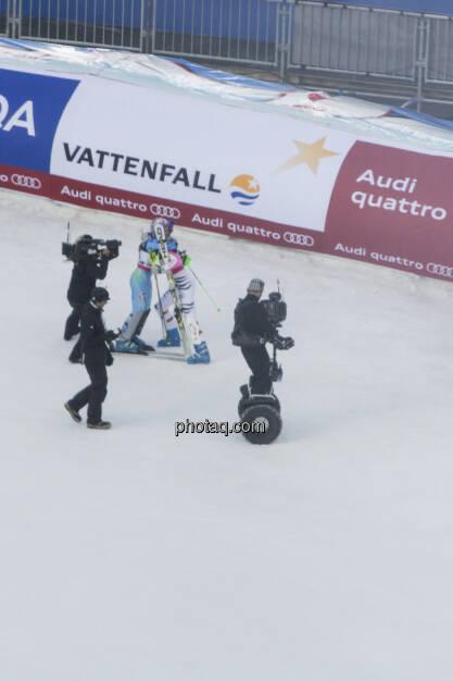 Tina Maze, Maria Riesch, Alpine Ski WM 2013, Schladming, © finanzmarktfoto.at/Martina Draper (09.02.2013)
