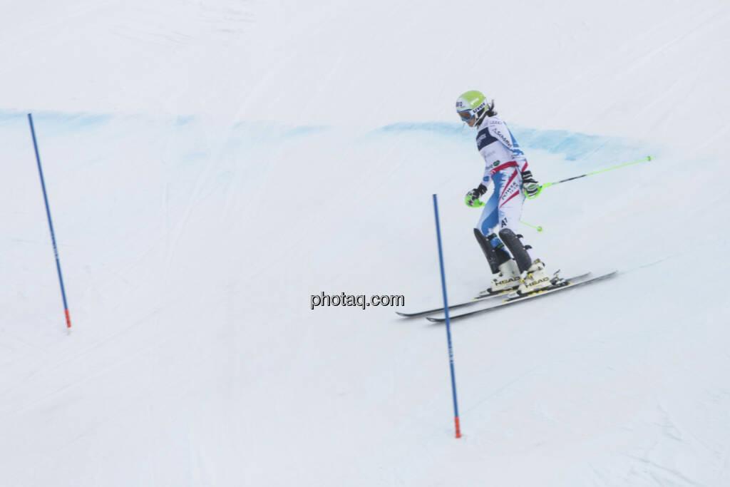 Ausfall Anna Fenninger, Alpine Ski WM 2013, Schladming, © finanzmarktfoto.at/Martina Draper (09.02.2013)