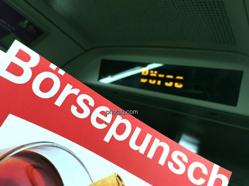 Börsepunsch Börse (06.12.2014)