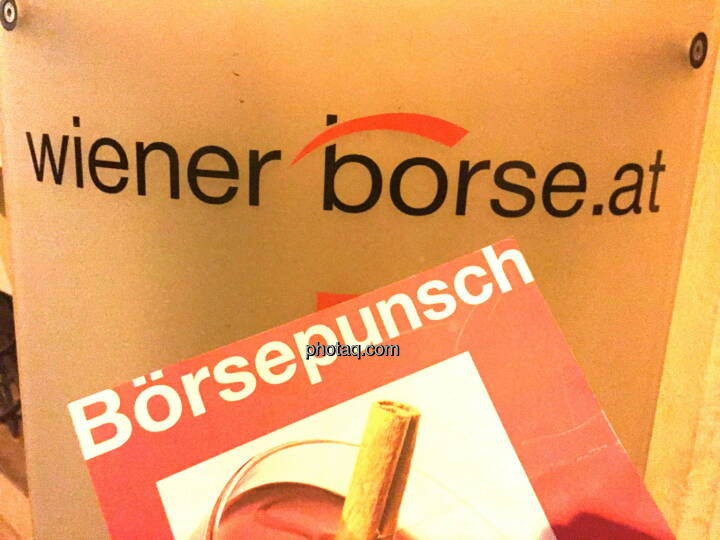 Wiener Börse Börsepunsch