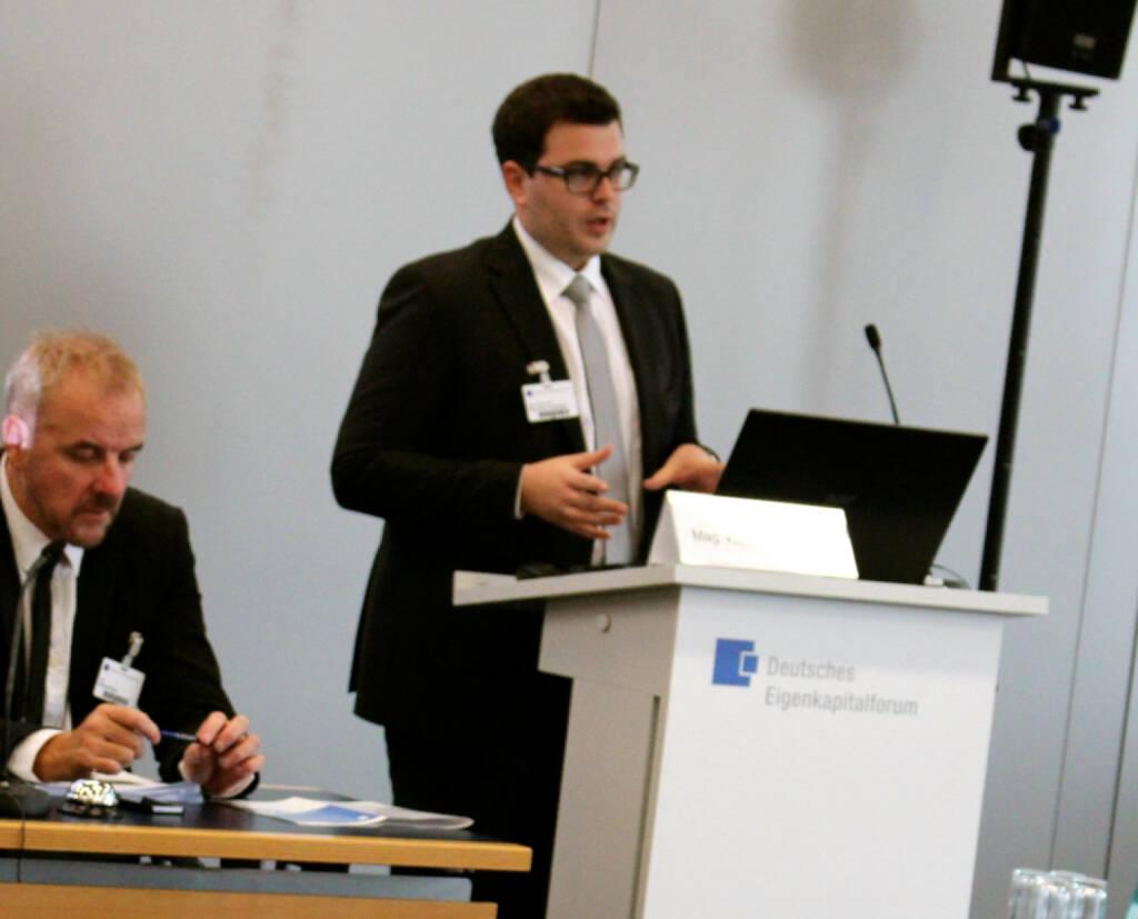 Klaus Fahrnberger, bet-at-home.com, beim Deutschen Eigentkapitalforum, © Joe Brunner (08.12.2014)