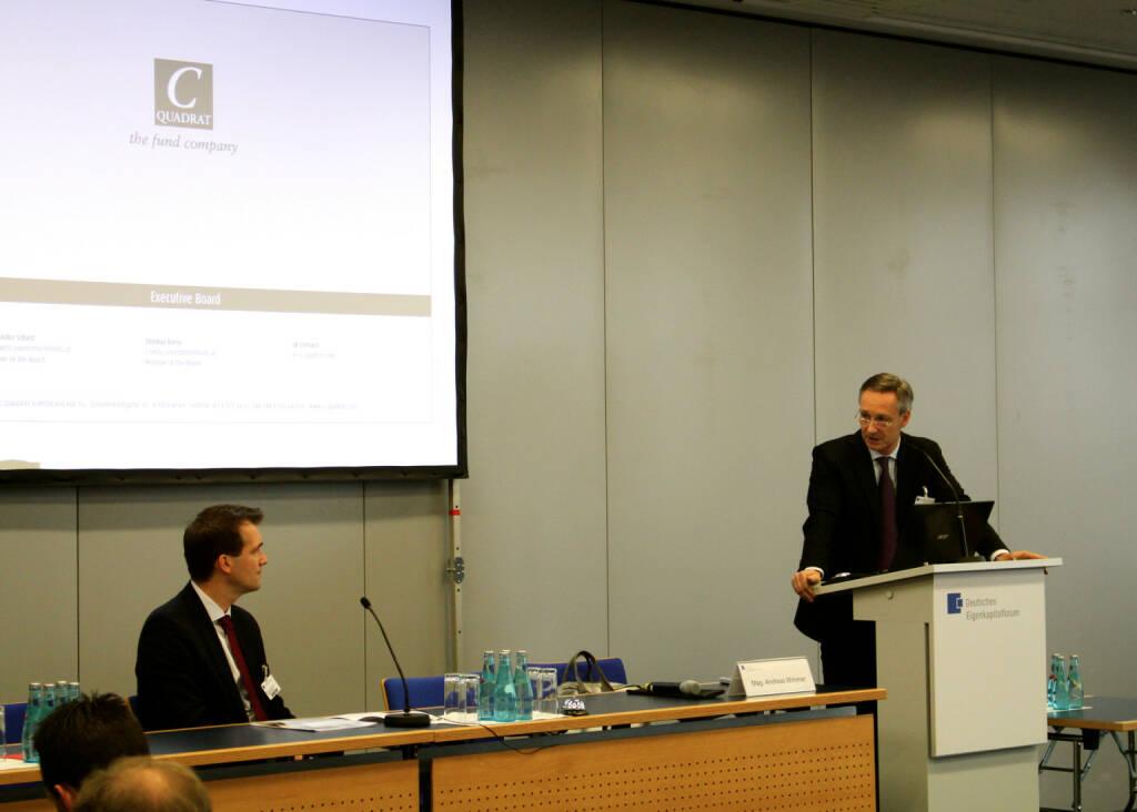 Andreas Wimmer, C-Quadrat, beim Deutschen Eigentkapitalforum, © Joe Brunner (08.12.2014)