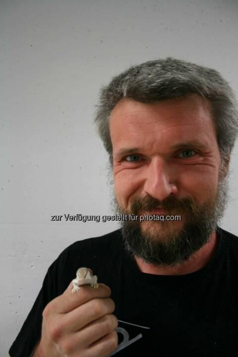 Prof. Werner Baumgartner vom Institut für Medizin- und Biomechatronik der Johannes Kepler Universität (JKU) Linz.