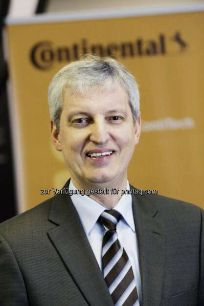 Hans-Jürgen Duensing neu in den Vorstand der Continental AG berufen., © Aussender (10.12.2014)