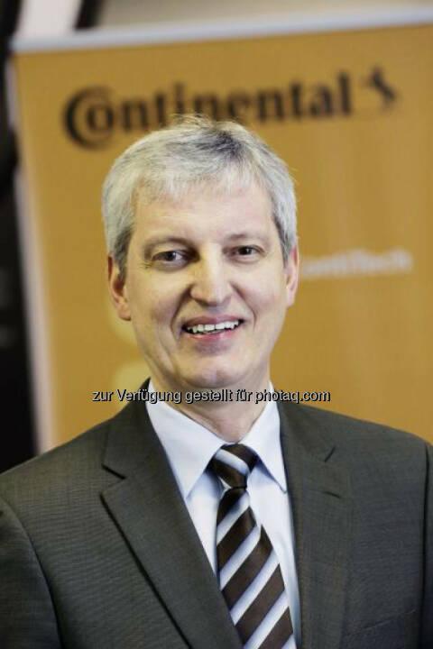 Hans-Jürgen Duensing neu in den Vorstand der Continental AG berufen.