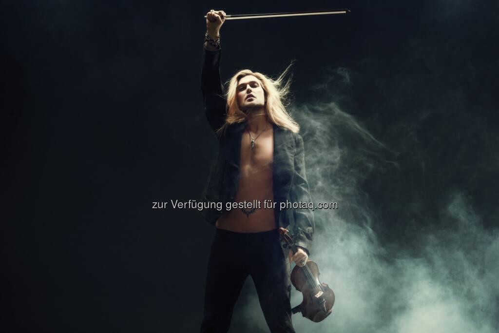 David Garrett-Classic Revolution - Das einzige Open-Air Österreichs am 28. Juni - Leutgeb Entertainment Group GmbH: , © Aussender (10.12.2014)