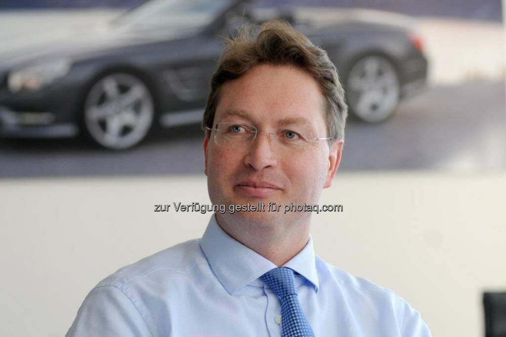 """Ola Källenius (Daimler AG) zum Mitglied des Vorstands bestellt, er übernimmt Vorstandsressort """"Mercedes-Benz Cars Vertrieb""""; Berufung bis 31. Dezember 2017 (Bild: Daimler), © Aussender (11.12.2014)"""