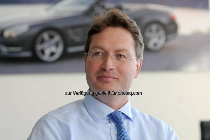 """Ola Källenius (Daimler AG) zum Mitglied des Vorstands bestellt, er übernimmt Vorstandsressort """"Mercedes-Benz Cars Vertrieb""""; Berufung bis 31. Dezember 2017 (Bild: Daimler)"""