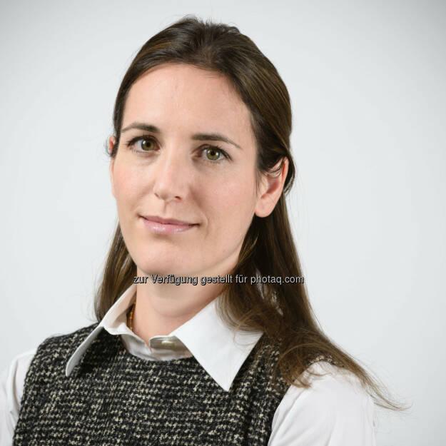 Lavinia Jacobs übernimmt ab 1. April 2015 die Führung der Jacobs Foundation., © Aussender (12.12.2014)