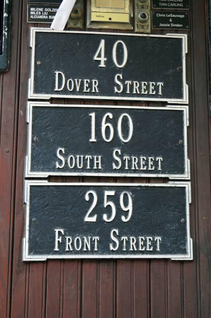 Dover Street, South Street, Front Street (Bild: bestevent.at) (13.12.2014)