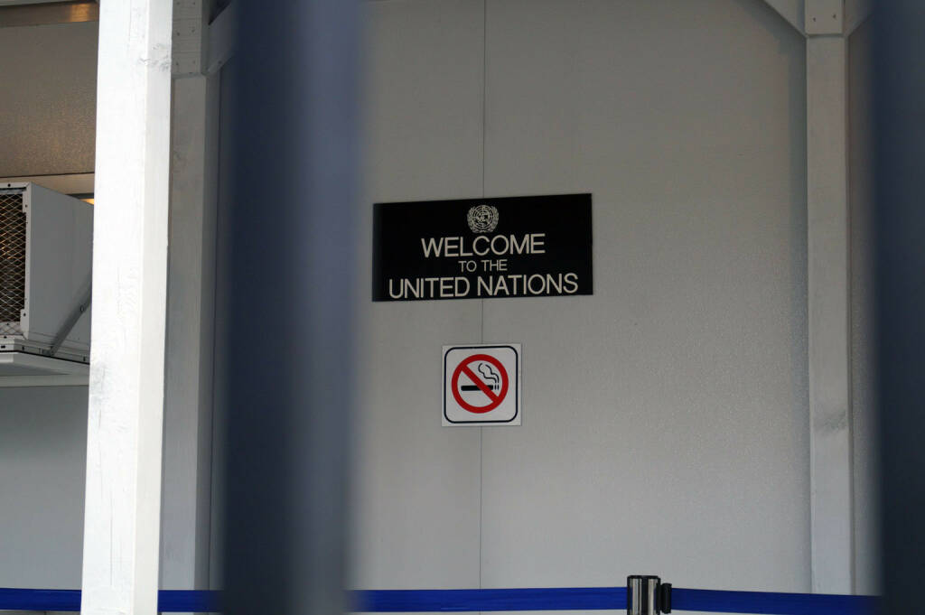 Welcome to the United Nations (Bild: bestevent.at) (13.12.2014)