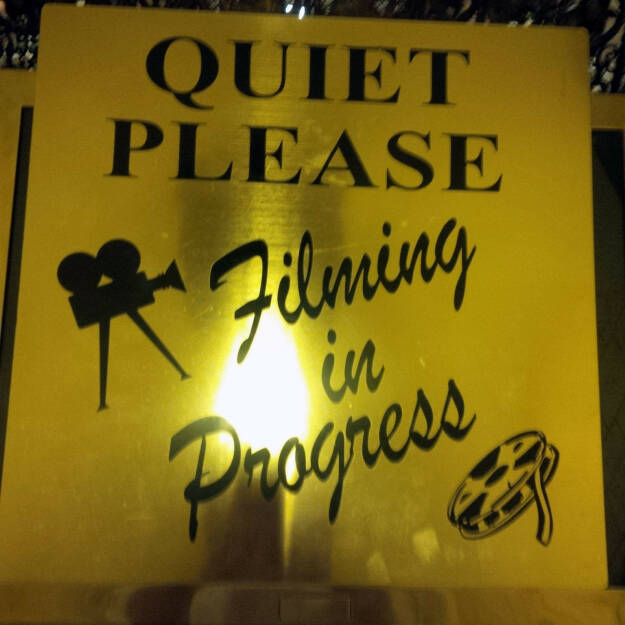 Quiet Please, Filming in Progress (Bild: bestevent.at) (13.12.2014)