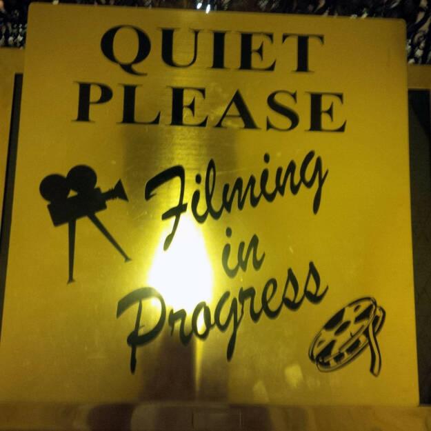 Quiet Please, Filming in Progress (Bild: bestevent.at) (13.12.2014)