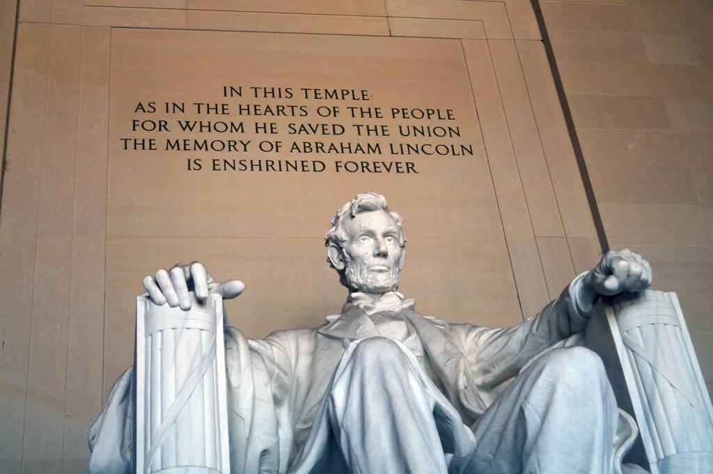 Abraham Lincoln, Washington, Lincoln Memorial (Bild: bestevent.at) (13.12.2014)