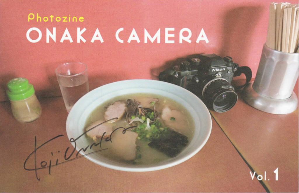 Koji Onaka - Onaka Camera Vol.1, Matatabi Library 2014, Cover - http://josefchladek.com/book/koji_onaka_-_onaka_camera_vol1, © (c) josefchladek.com (14.12.2014)