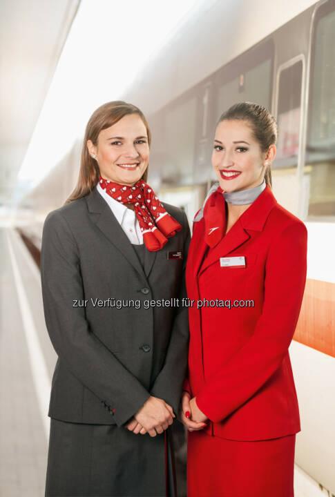 Austrian Airlines: AIRail hebt ab: Start der Direktverbindung zwischen Linz Hauptbahnhof und Flughafen Wien.