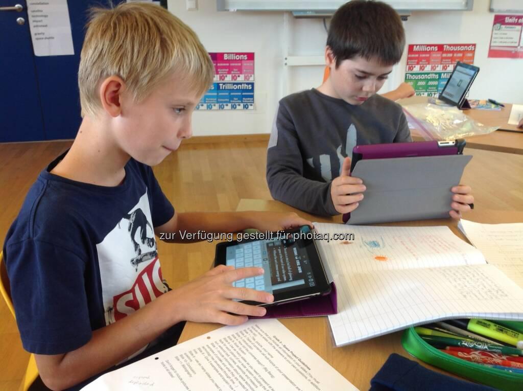 Kapsch AG: Kapsch sorgt für die Digitalisierung der International School of Carinthia, © Aussender (16.12.2014)